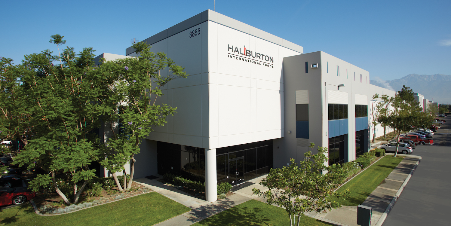Exterior photo of our food manufacturing facility located in Ontario California