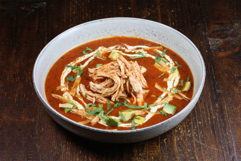 Fire Roasted Tortilla Soup