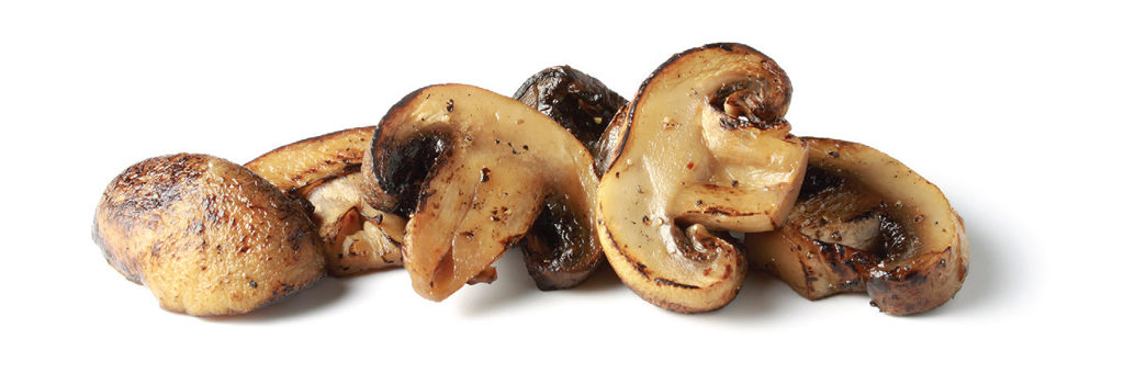 IQF Oven Roasted White Mushrooms
