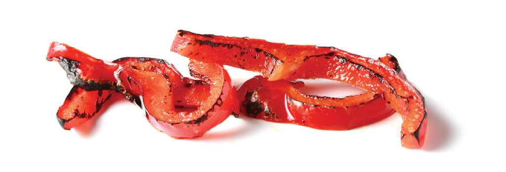IQF Flame Roasted Red Bell Peppers
